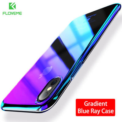 FLOVEME Changing Color Clear Case For iPhone X Case Mobile Phone Accessories