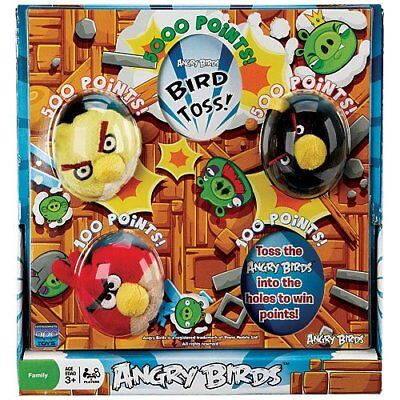 Angry Birds Bird Toss Game - Family Fun - Includes 3 Birds - Ages 3+ NEW
