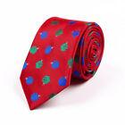 Tie Christmas White Ties for Men