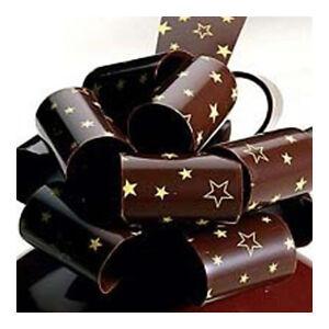 ChocolateTradingCo Stars Chocolate Transfer Sheets x 2 For Cake Decorating