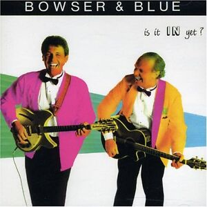 Bowser and Blue-Is It In Yet? Comedy Lp-Great condition