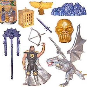 CLEARANCE: Play Sets - Darkness Warriors - NIP - 46 in Total!