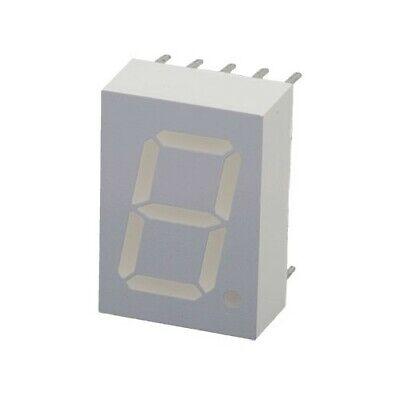 7-segment Display 0.5 Green 3mcd Common Cathode 562nm Man5460 2.4v 20ma