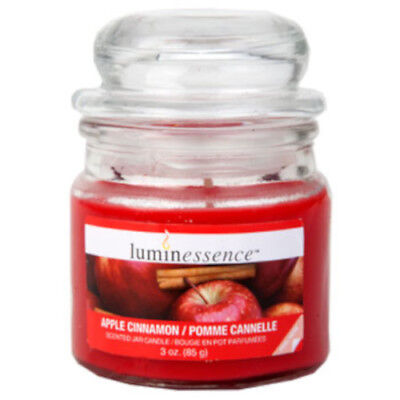 Scented Apothecary Jar (Luminessence Mini Glass Apothecary Jar Candles, 3 oz. ~ Choose from 5 Scents)