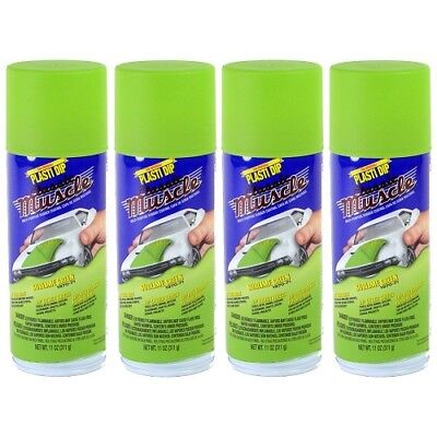 Performix Plasti Dip Muscle Car 11308 Sublime Green Rubber Spray 4 Pack