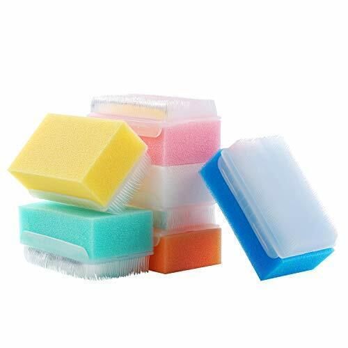 6 Pack Reusable Sensory Brush, Surgical Brush, Nail Brush, Baby Bath Scrubber
