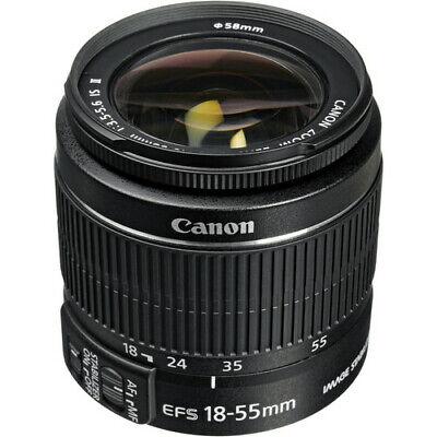 Canon EF-S 18-55mm f/3.5-5.6 IS II Lens -Bulk package