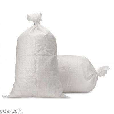 10 Rubble Sacks Large Heavy Duty Builder Sand Garden Bags - 90cm x 56cm