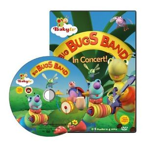 BabyTV DVD Big Bugs Band (PAL)