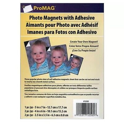 - ProMag Magnet Photo Adhesive Variety Pack 5pc