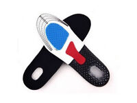 NewUnisex Gel Orthotic Sport Running Insoles Inserts Shoe Pads Cushioning Arch Support .