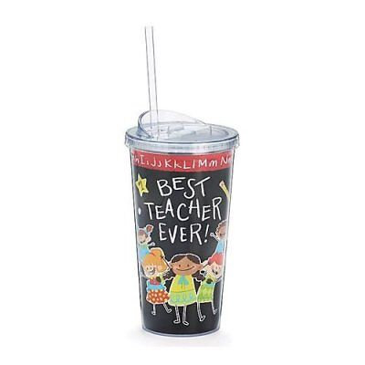 Best Teacher Tumbler Travel Sippy Cup with