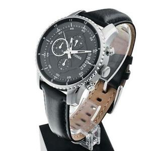 mens fossil watch leather mens fossil watch leather chronograph