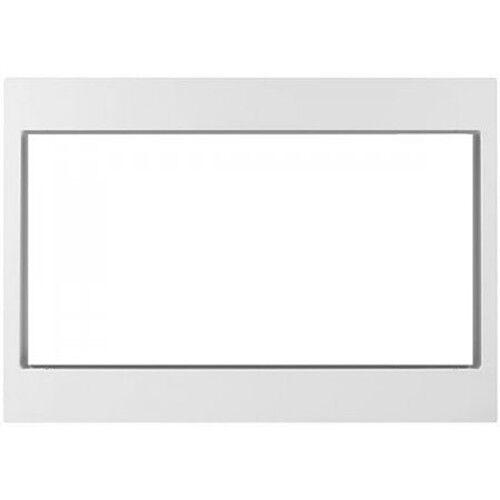 "Kitchenaid 27"" White Trim Kit For Countertop Microwaves, Model Mk2227awh"