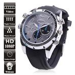 Spy Horloge watch Full HD Verborgen camera 8GB nachtvisie...