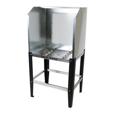 Qcx-2432 Econo Washout Booth A.b. Led Backlight Screen Printing Tank