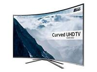 Samsung 49 Inch 4K UHD LED Freeview HD Curved Smart TV