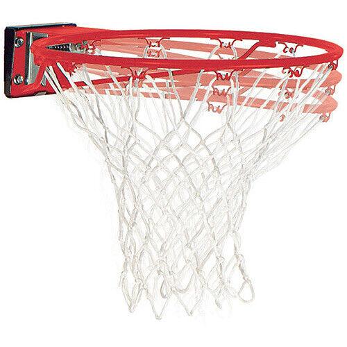 Breakaway Mounted Slam Jam Basketball Hoop Rim and Net Dunk Shooting Sports Game
