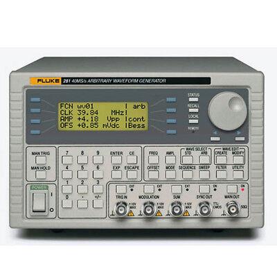 Fluke 282-u 115v Two-channel Arbitrary Waveform Generator 40 Mss