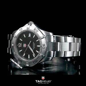Genuine TAG HEUER AQUARACER Men's Black Dial 300M Diver Sydney Region Preview