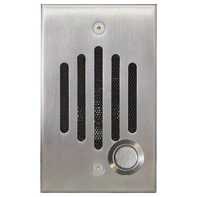 New Channel Vision IU-6302 Intercom  Door Station Nickel IU Speaker Camera ()