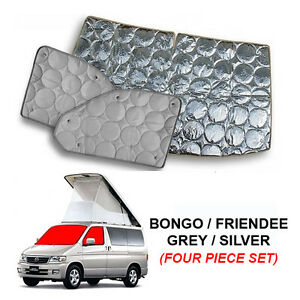 Mazda Bongo Thermal Blinds/Screens Internal Windscreen Cover (4 Piece)
