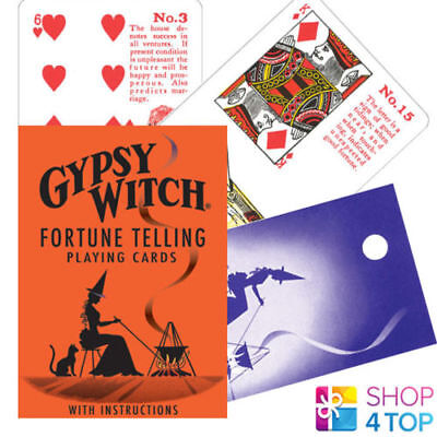 GYPSY WITCH TAROT DECK PLAYING CARDS ESOTERIC TELLING US GAMES SYSTEMS - Gypsy Witch Deck