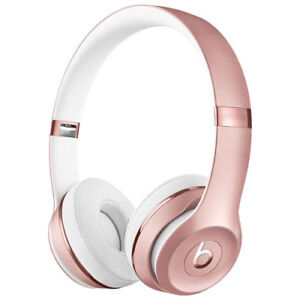 Beats Solo3 Wireless Rose Gold Headphones
