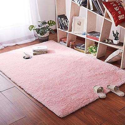 Fluffy Bedroom Area Rugs Girls Baby Room Living Room Nursery