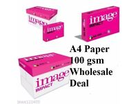 Image Impact 100GSM Paper Pack Boxes Brand New Stocklot
