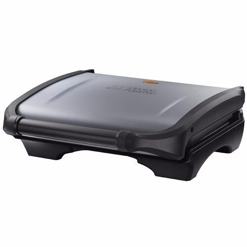 **NEW SEALED** George Foreman 5-Portion Family Grill - Silver (Kettle Toaster Iron Blender Whisk)