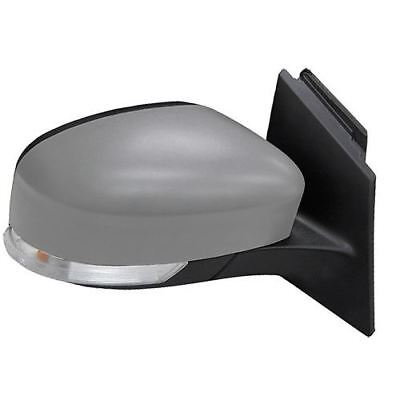 Ford Focus Mk3 2011 2017 Electric Wing Door Mirror Primed Drivers Side Right