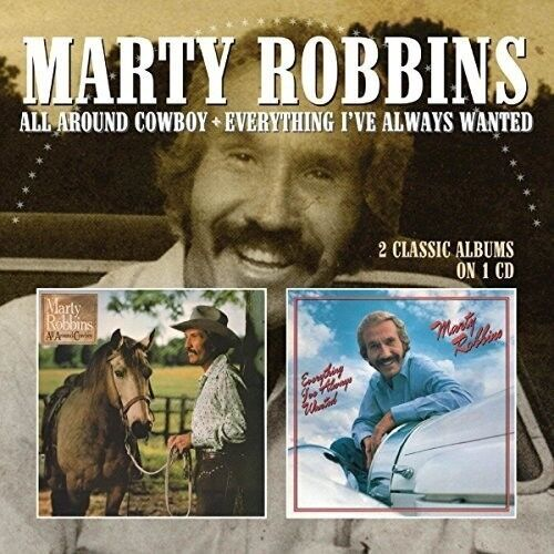 Marty Robbins - All Around Cowboy / Everything I've Always Wanted [New CD] UK -