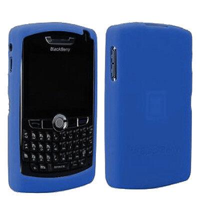 Original BlackBerry HDW-13751-003 BLUE Rubber Skin Case for 8800 8820 8830