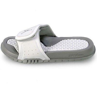 Nike Big Kids Jordan Hydro 2 (GS) NEW AUTHENTIC White/Metallic Silver 313194-115