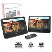 Dual Screen Car DVD Player