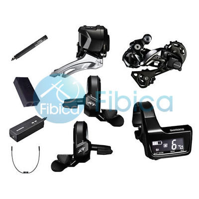 New Shimano Deore XT Di2 M8050 M8000 22s Electronic Upgrade Group Groupset