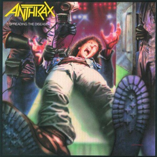 Anthrax - Spreading the Disease [New CD]