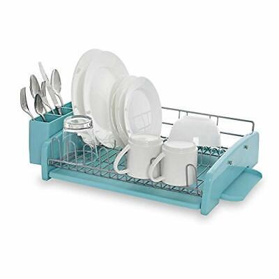 3-Piece Dish Rack, Aqua Sky - KCS896BXAQA Aqua Sky