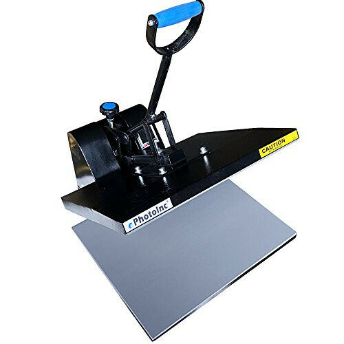"ePhotoInc 16 x 20"" Digital Heat Press Machine T-Shirt Transfer Clamshell Press E"