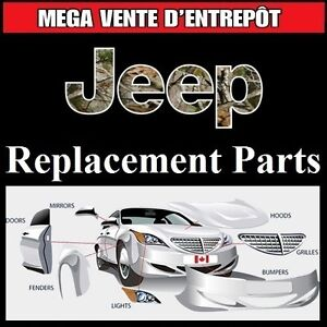 Jeep Commander - Fenders and Bumpers • Ailes et Pare-chocs