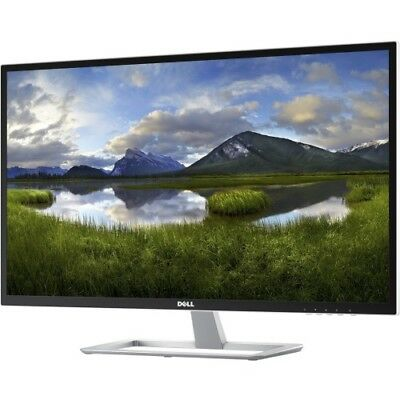 "Dell D Series LED-Lit Monitor 32"" White D3218HN, FHD 1920x1080, 16:9, IPS LED"
