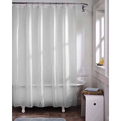 Kashi Home Vinyl Shower Curtain Liner, 70 X 72, Clear, Grommet Top, NWT FS