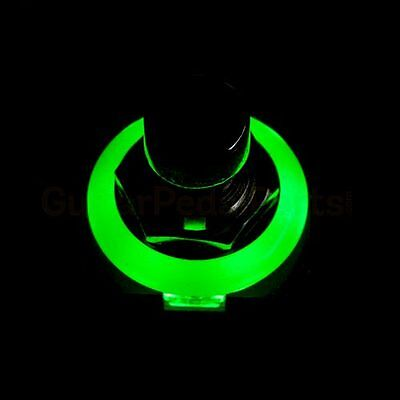 3PDT Foot Switch with Green LED Ring - Solder Lugs, True Bypass - BEST