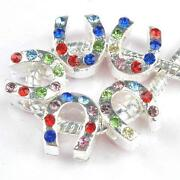 Rhinestone European Spacer Beads
