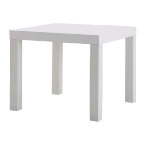 Ikea Lack White Side Table - Great condition Bondi Eastern Suburbs Preview