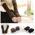 Womens Brown Gloves