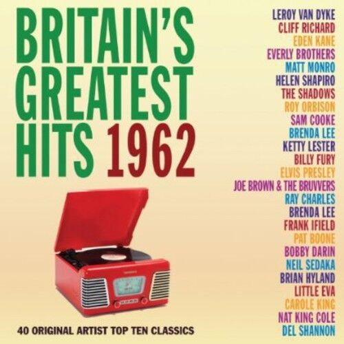 Various Artists - Britain's Greatest Hits 1962 / Various [New CD]