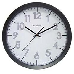 Westclox 14 Black Analog Indoor Wall Clock Second Hand Quartz USA Seller