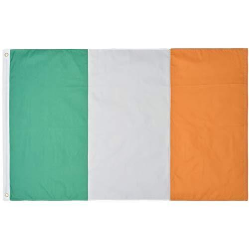 Ireland Eire Nylon Flag Large 5 x 3 FT - Hard Wearing Best Quality 100%